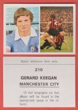 Manchester City Ged Keegan